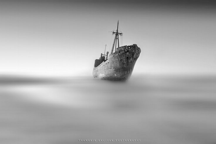 Photo Shipwreck by Thanasis Kalivas on 500px