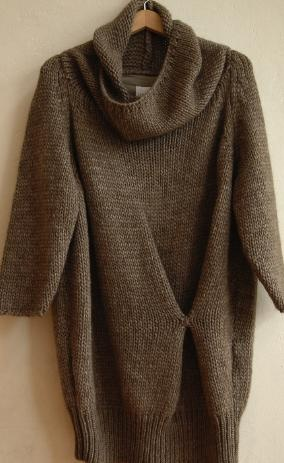 .I'd wear this with boots and tights - perfect for teaching or a day in the yarn shop.