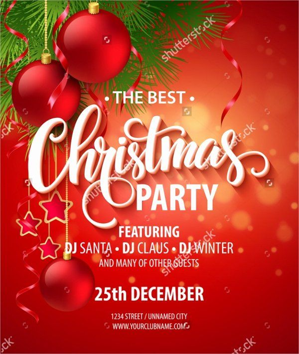 Free Christmas Party Invitations Template Unique 32 Christmas Party Christmas Party Invitation Template Christmas Party Invitations Free Party Invite Template