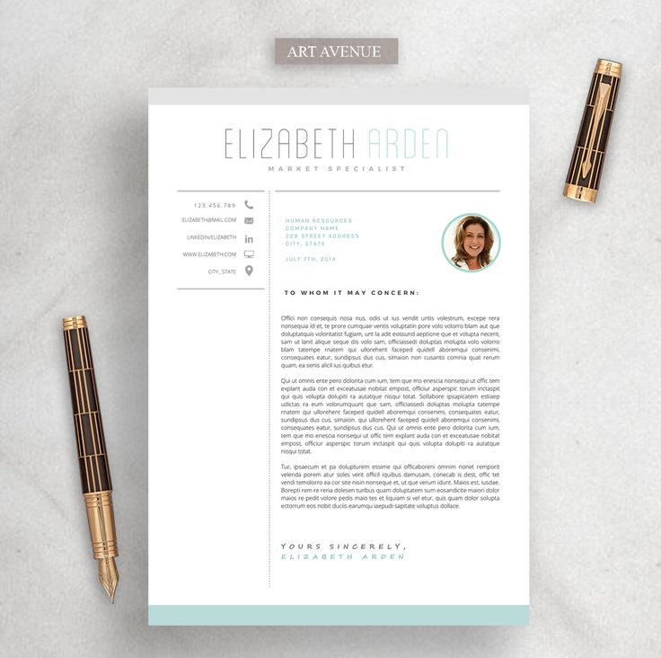 79 best CV images on Pinterest Resume design, Resume ideas and - reference page format resume