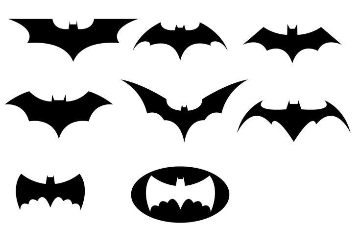 lots of clip art of batman logos
