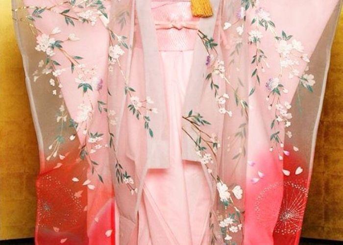 \リアル天の羽衣!/ふわふわ可愛いオーガンジーで作られた『新和装』を着てみたい♡のトップ画像