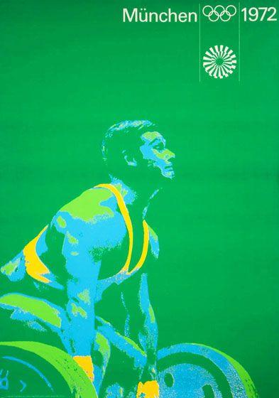 Munich 1972 Olympics Poster Showcase