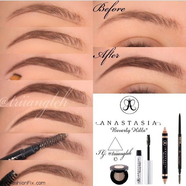 How To Shape Eyebrows With Eyebrow Kit Beauty Beauty