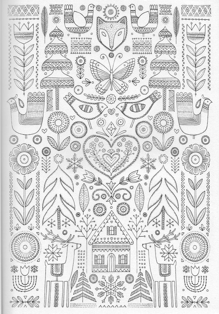 """Adult coloring page 