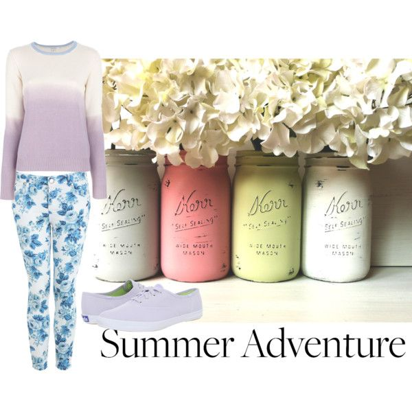 Floral Mood by maraki5 on Polyvore
