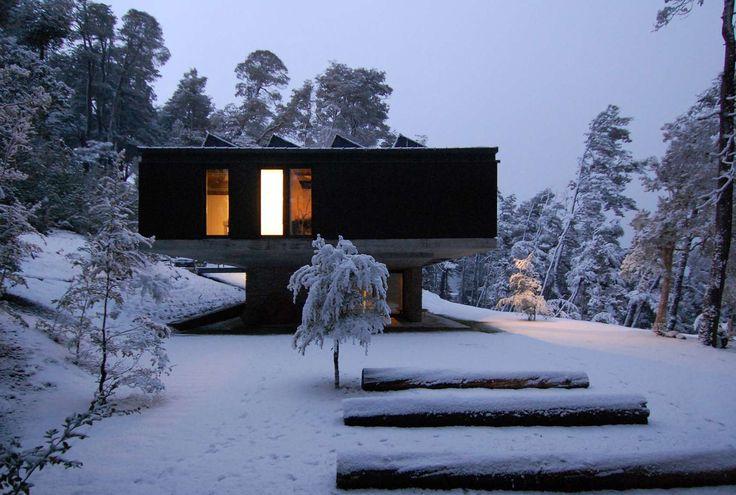 Casa Techos, Villa la angostura, Argentina. Mathias Klotz