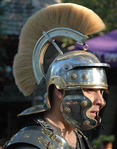 Roman soldier at the Texas Ren Fest