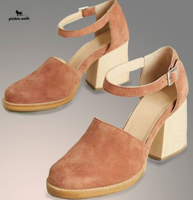 Nude block heels! Place your order now for customisation! Contact (+91)9925174722 or dm us