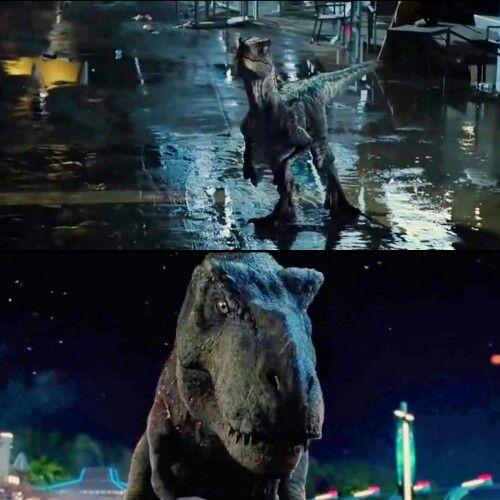 Jurassic World Blue And Rexy MOVIEs Pinterest World