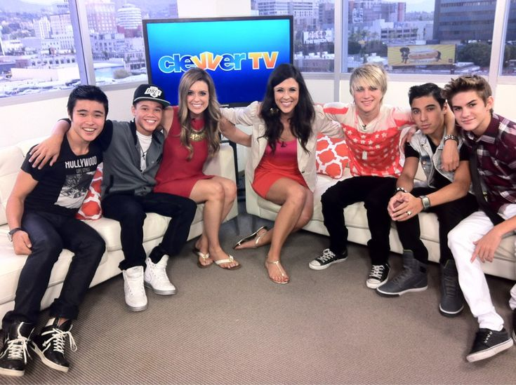 IM5  Dalton, kiva's son, is 3rd from the right.  IM5 Hang Out With ClevverTV 7/18/12! (@IM5Band @Debbie Fortner contact call: 00201225731329 @Elaine Perez Hilton)