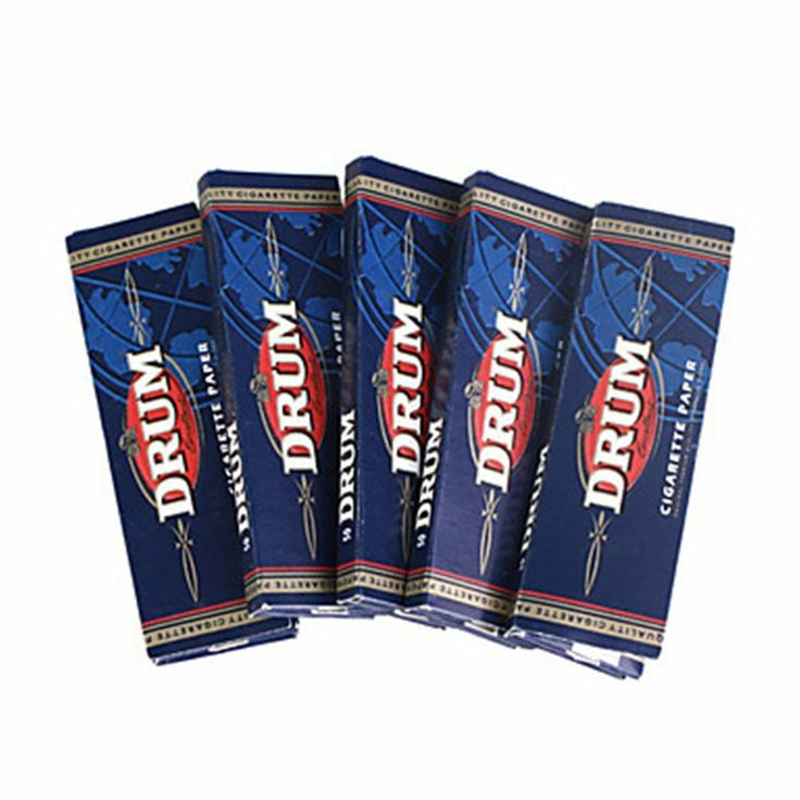 Drum Cigarette Tobacco  Rolling Papers (5-Pack)