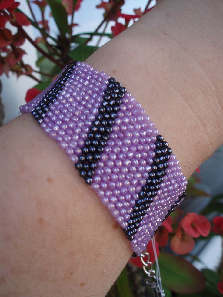 https://www.etsy.com/listing/192762843/lavender-purple-and-gray-bead-bracelet?ref=listing-shop-header-1