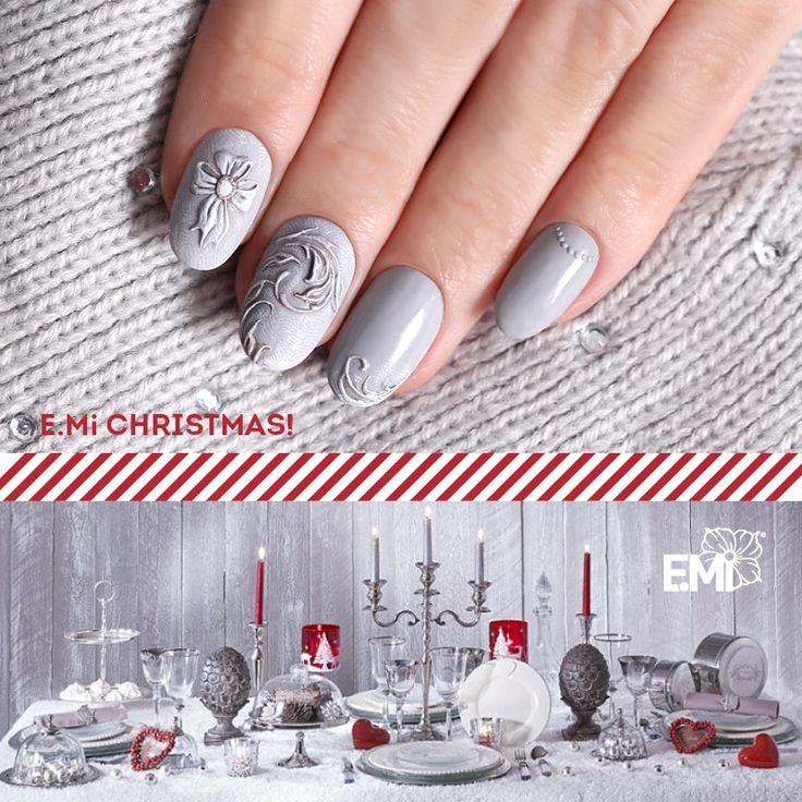 xmas cool nail art design of Emi #Emimanicure • xmas nails easy • xmas nails designs • xmas nails art • xmas nails winter • xmas nails red • xmas nails shellac • xmas nails blue • xmas nails glitter • xmas nails simple • xmas nails sparkly • xmas nails diy • xmas nails black • xmas nails pink