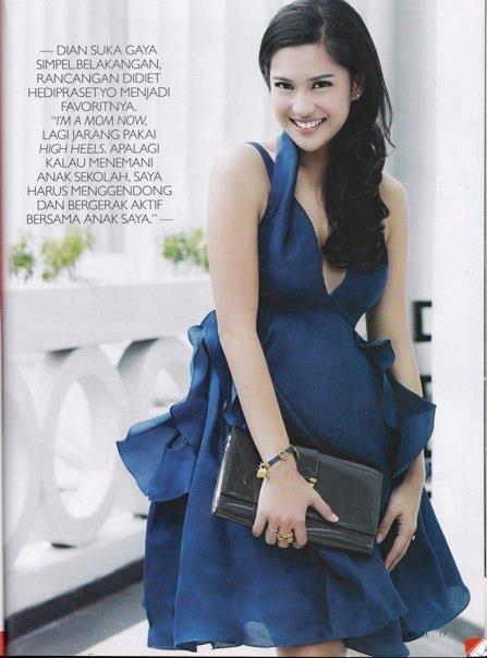 Dian Sastrowardoyo // Grazia Magazine