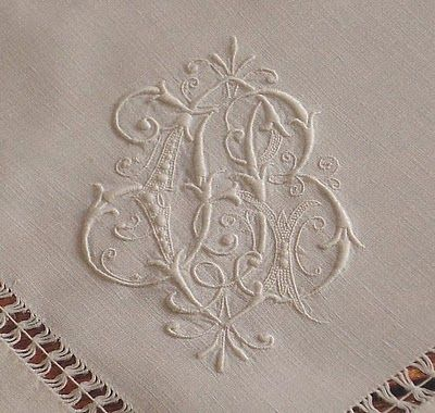 Papillon Linens - European Elegance: Traditional Embroidery