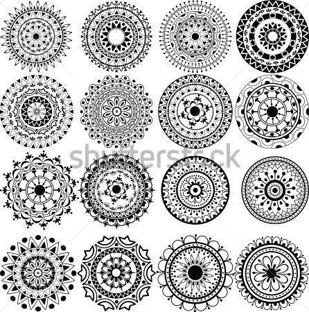281 mejores imgenes de Mandalas en Pinterest  Mandalas Dibujos