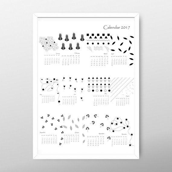 25+ beste ideeën over Print calendar 2017 op Pinterest - printable 2017 calendar