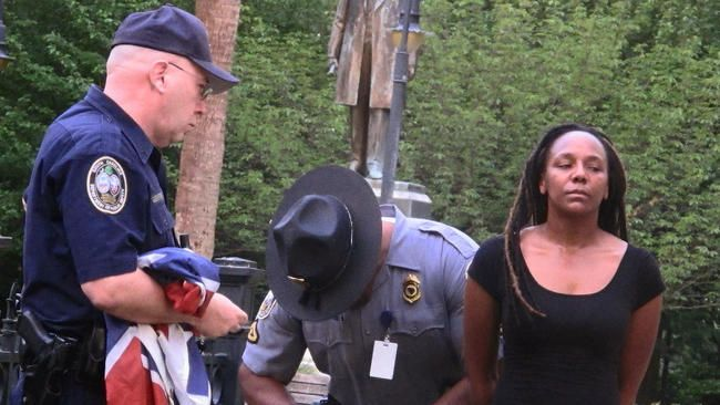 Bree Newsome arrested