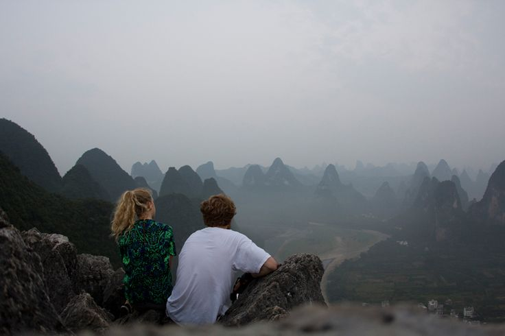 #thegoldenbunontour // Day 15 Xingping | sunrise on Louzai hill / bamboo boat tour / sunset