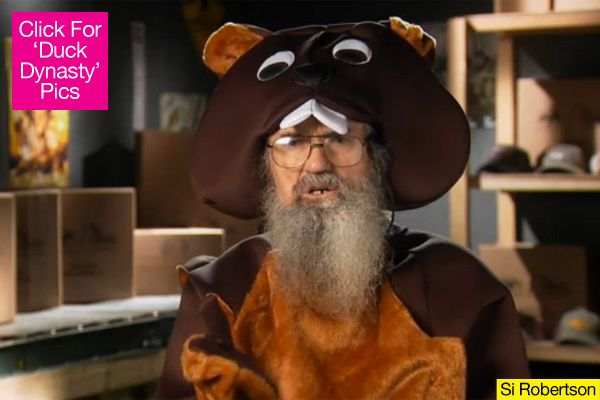duck dynasty halloween | Duck Dynasty' Season Finale: Si Reveals Twisted Halloween Costume