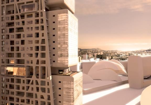The new Euroméditerranée district is the symbol of the urban metamorphosis of Marseilles.