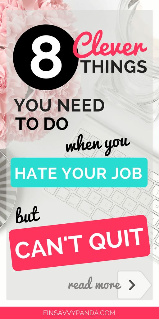 how to quit your job tips / hate your job but can't quit / when to quit your job / hate my job tips / hate my job what to do #FinanceJobs
