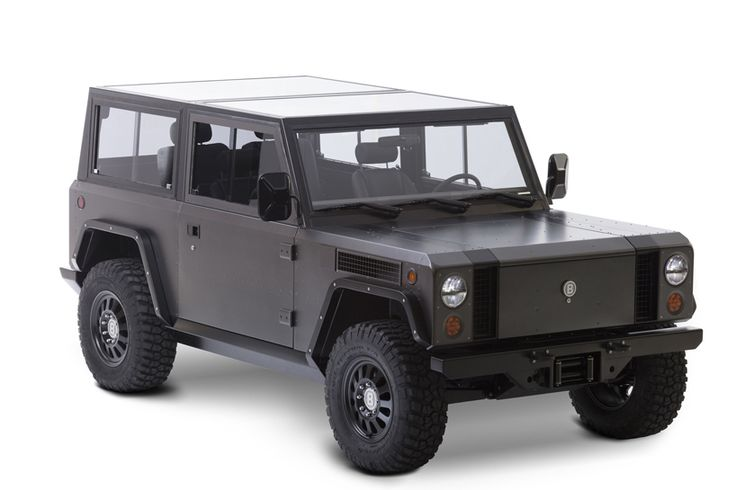 bollinger's B1 is an all electric sport utility truck