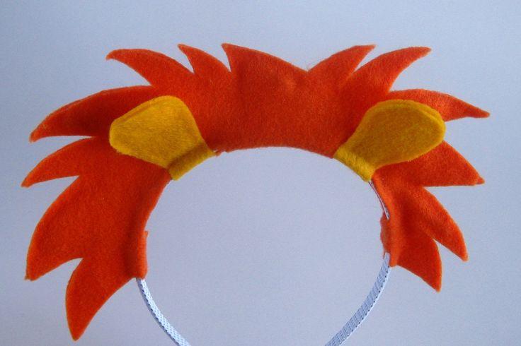 Lion Mane Headband by PlaytimeProps on Etsy