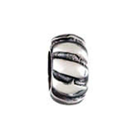 Spacer Design 2 Oriana Bead - Pandora Bead & Bracelet Compatible Eve's Addiction. $7.95. Metal Finish: rhodium-plated. Approximate Weight: 3 grams. Save 34% Off!