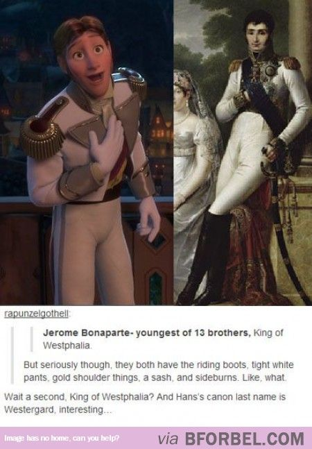 The Inspiration For Hans… WHAT??