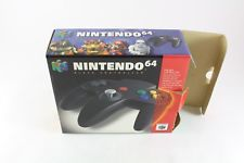 Nintendo N64 Official Black Controller Pad Fantastic Condition Collectors Boxed