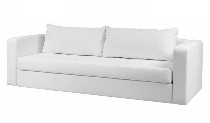 Schlafsofa Weiß