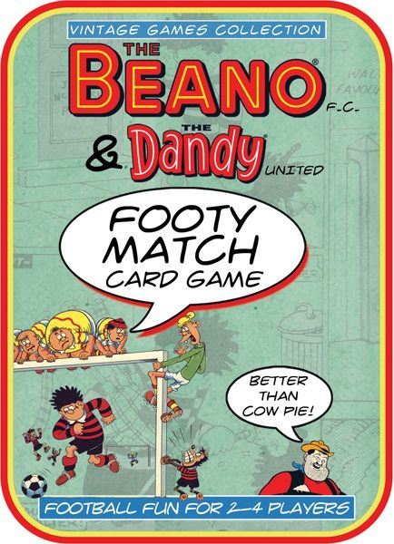 Beano Football Card Game