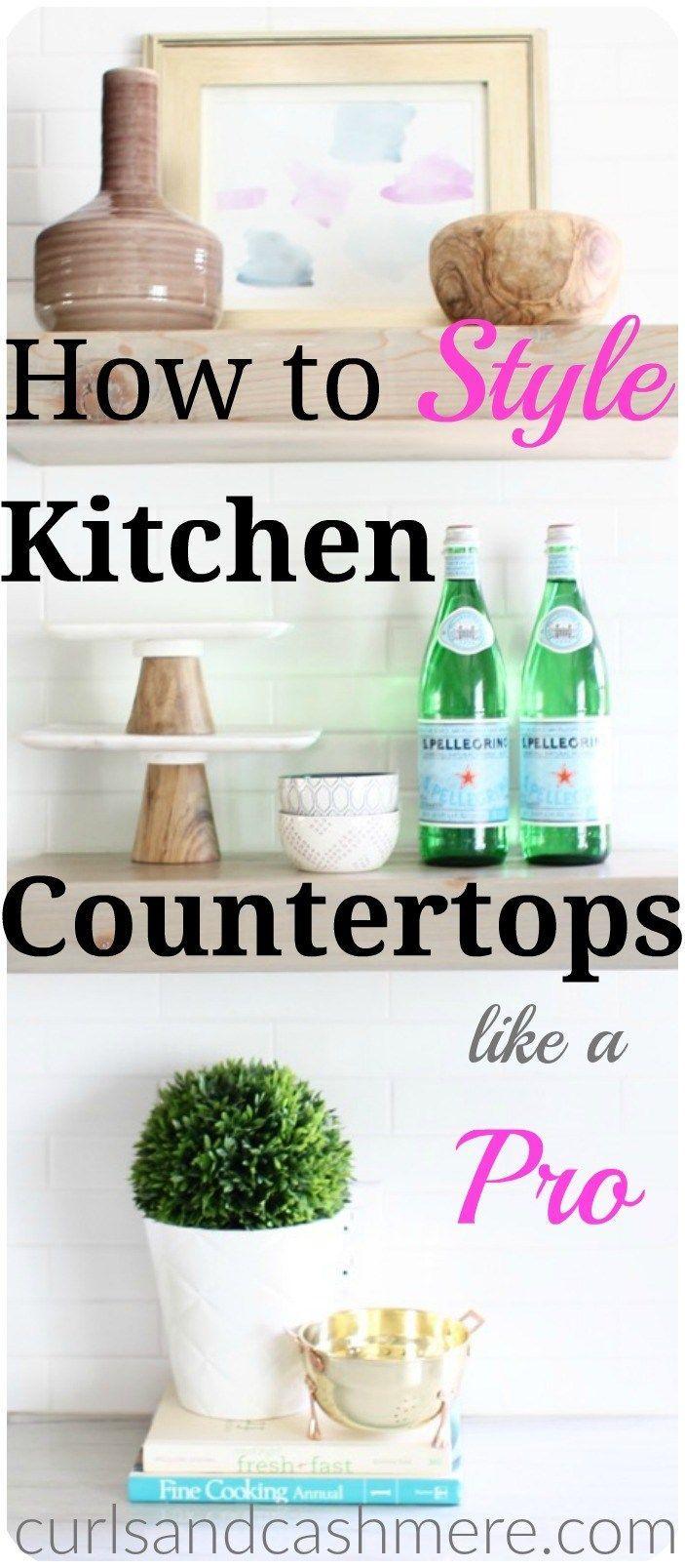 Best 20 kitchen countertop decor ideas on pinterest - Decor for kitchen counters ...