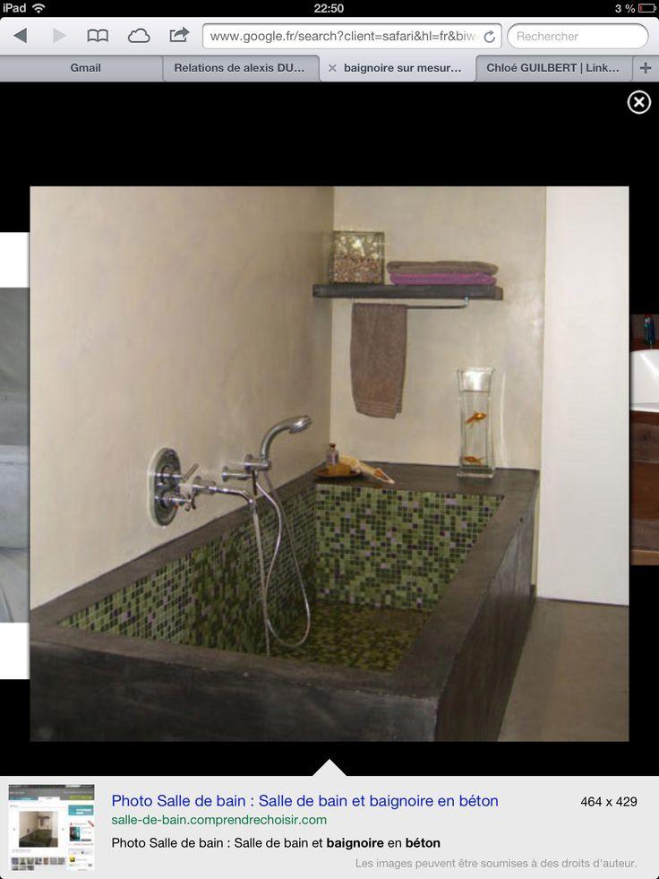 1000+ images about Salle de bain béton ciré on Pinterest