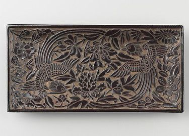 Carved Tray - Yuan Dynasty