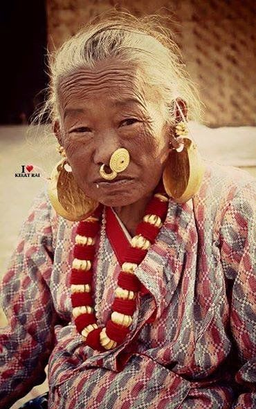 An old Kirat Lady. #Nepal #traditional #ornaments #Kirat Originally appeared in https://www.facebook.com/227259777437210/photos/pb.227259777437210.-2207520000.1441190255./527302680766250/?type=1&theater