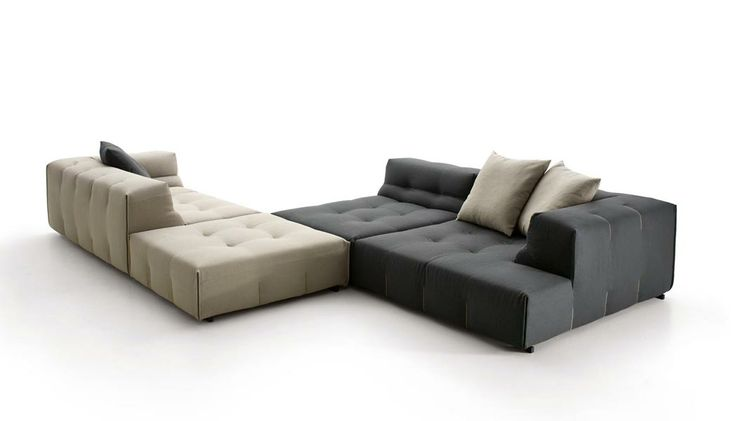 :: FURNITURE :: Adore the new B Italia Tufty-Too series, I wasn't a fan of the leather version but now seeing the fabric version with the sewing details, this sectional calls out comfort, proportions of this collection provides more then just style, but is timeless in recreating the traditional tufted sofa.  Kudos to PATRICIA URQUIOLA for always taking product to the next level. #B Italia #PATRICIAURQUIOLA #Tufty-Too #furniture