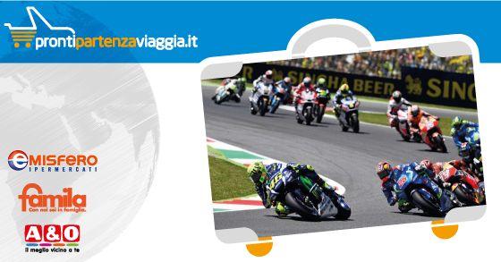 PRONTI, PARTENZA... VIAGGIA! MOTO GP Gran Premio d'Italia 4 Giugno 2017 da € 350,00 Scopri di più su http://www.prontipartenzaviaggia.it/it/services/885/moto_gp_gran_premio_d_italia_4_giugno_2017.html