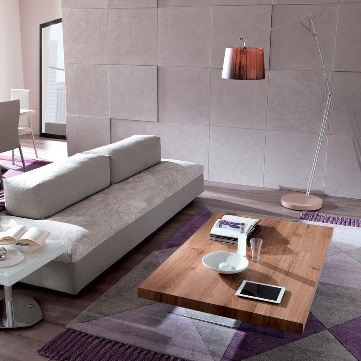 Tavolino da salotto con panca integrata Markus di Ozzio Design