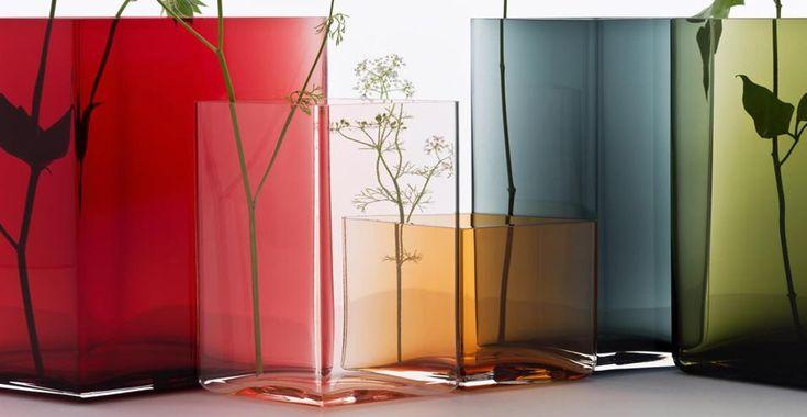 Geometrie di colore in vaso Ruutu per Iittala
