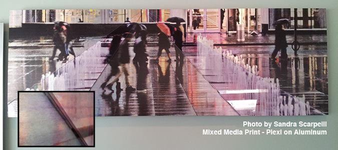 printing your photos on aluminium! #photomediadecor