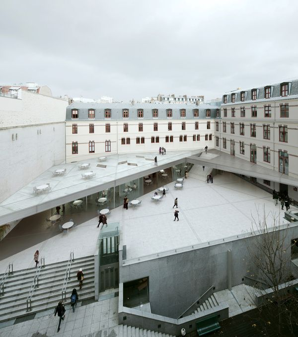 student center by muoto , via Behance