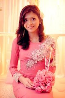 Shera's Engagement Dress.