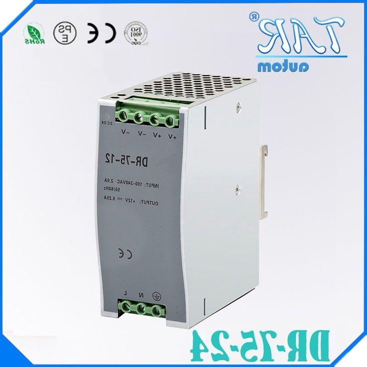 33.01$  Watch now - https://alitems.com/g/1e8d114494b01f4c715516525dc3e8/?i=5&ulp=https%3A%2F%2Fwww.aliexpress.com%2Fitem%2F75w-24v-3-2a-din-rail-model-ce-approved-75w-DR-75-24-power-supply-rail%2F32668900975.html - 75w 24v 3.2a din rail model ce approved 75w DR-75-24 power supply rail din 24v with wide range input high quality