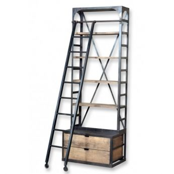 Hutch Ladder Bookshelf - CDI - Available at Warehouse 74