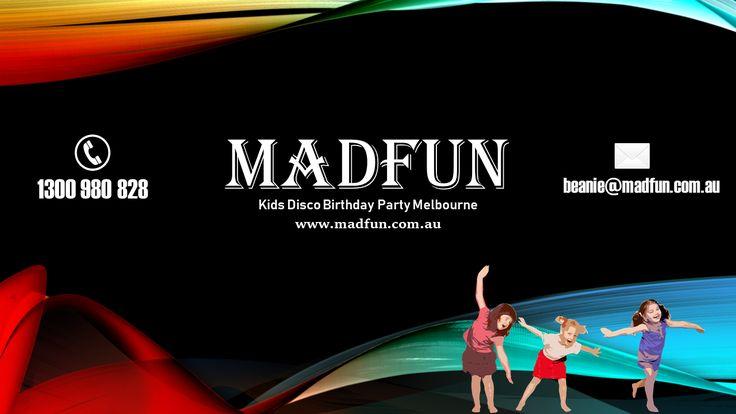 Kids #Disco Birthday Party #Melbourne