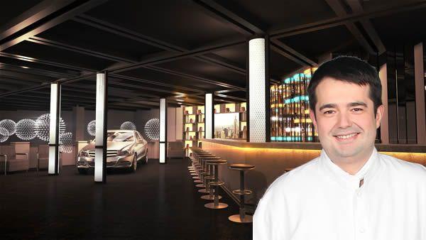 Mercedes accueille Jean-François Piège pour un restaurant éphémère