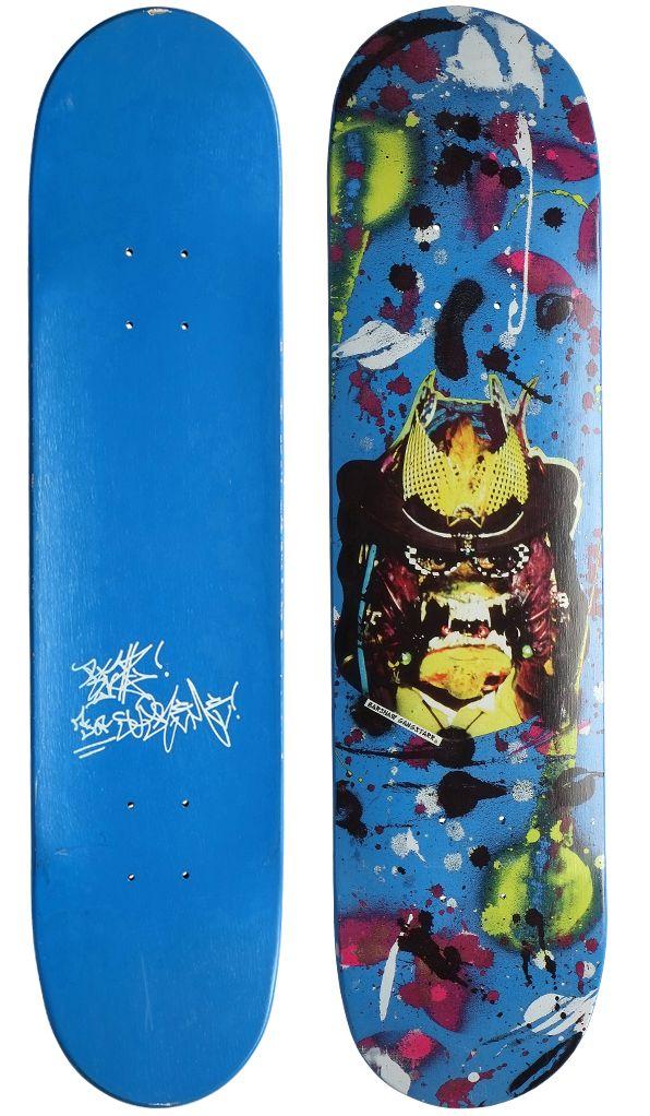 Cast of Vices - rammellzee - supreme skateboard deck
